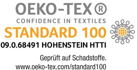 Ravensberger Natura LUX 100% Natur-Latex Topper Matratzen Auflage LATEXCO Latex RG 75 (50-110 kg) Baumwoll-DT 90×200 Bild 3*