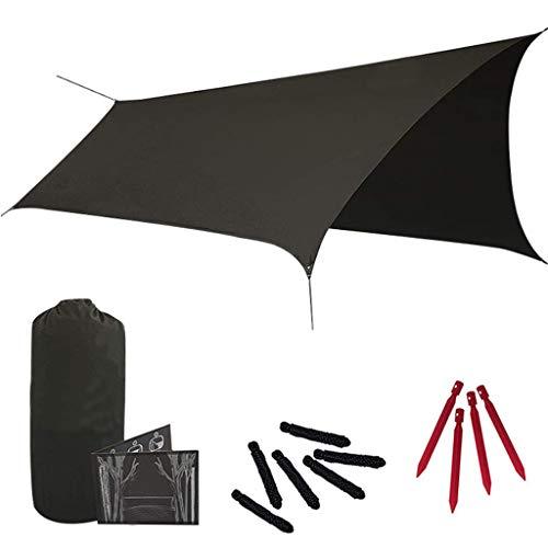 Sharplace Hamaca Sol Refugio Sombra Carpa Toldo Toldo con Bolsa de Almacenamiento para Acampar Al Aire Libre Senderismo Mochilero Picnic
