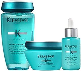 Resistance Bain Shampoo Extentioniste 8.5 Oz, Masque Extentioniste 6.8 Oz & Serum Extentioniste 1.7 Oz