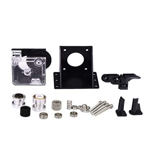 xiegons0 Estrusore Kit 3D Stampante Estrusore Kit per CR-10,CR-10S,Ender-3,Ender-3 PRO Lega di Alluminio Resistente al Calore Doppio Cambio Direct Drive Estrusore Upgrade Kit