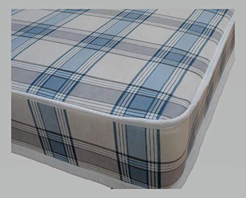 MR SLEEPS BEDS Single budget economy Candy mattress 3ft (90) Width / 6ft3 (190cm) Standard length mattress / 6.5 inches Depth (16.5cm), Made to UK Fire Regs
