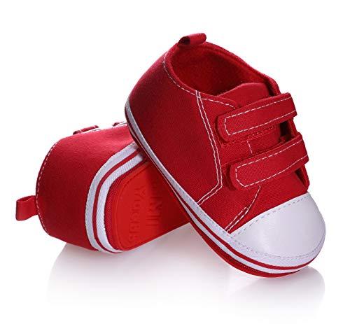 Newborn Cozie Fleece Bootie, Unisex Infant Toddler Slippers Crib Shoes Warm Boots with Non Skid Bottom (12-18 Months, G)