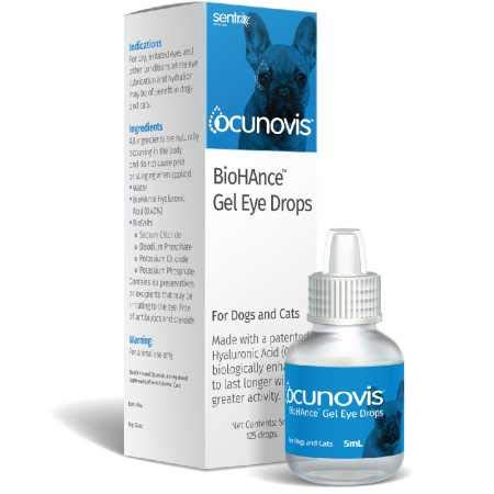 Sentrx Animal Care Eye Lube for Dogs and Cats,...