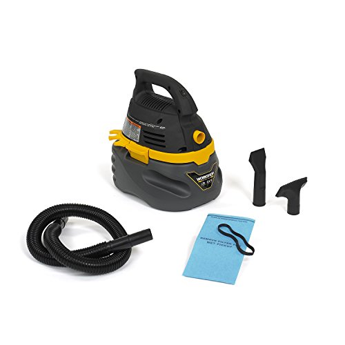 WORKSHOP Wet Dry Vac WS0250VA Compact, Portable Wet Dry Vacuum Cleaner, 2.5-Gallon Small Shop Vacuum Cleaner, 1.75 Peak HP Portable Vacuum