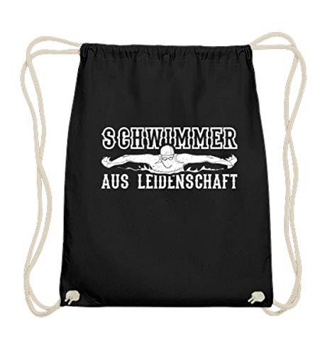 Chorchester zwemmer uit passie water fans - Katoen Gymsac