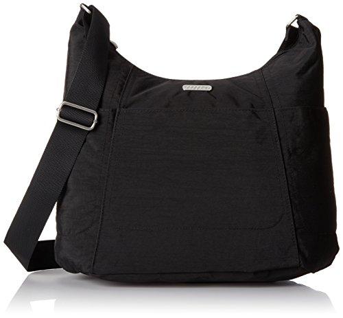 Baggallini Hobo Travel Tote, Black, One Size