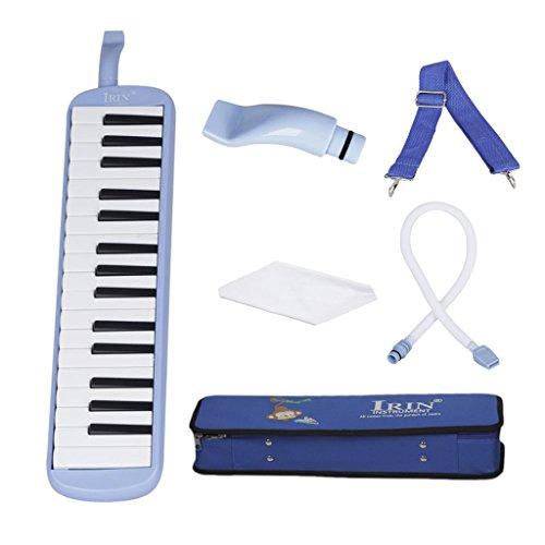 #N/A IRIN 32 Klaviertasten Melodica Student Class Harmonica Für Musikliebhaber Anfänger Geschenk - Blau