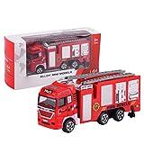 Yusat Niños Camión Vehículo Inercia Juguete De Rescate De Incendios Coche Niño Juguete Para Niños Juguete Educativo