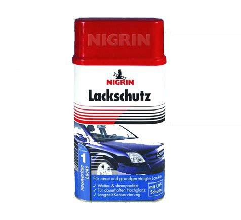 Preisvergleich Produktbild NIGRIN Lackschutz 300ml,  verleiht dem Lack einen dauerhaften Hochglanz und wirkt farbauffrischend