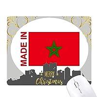 モロッコの国が好きで クリスマスイブのゴムマウスパッド