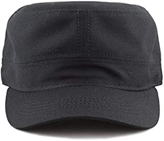 The Hat Depot Made in USA Cotton Twill Military Caps Cadet Army Caps