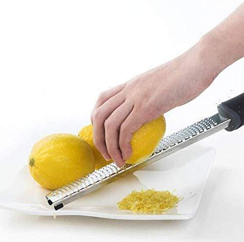 ZXL Multifunctionele kaasstamper citroen gember sap chocolade knoflook roestvrij staal messensnijder molen beschermhoes