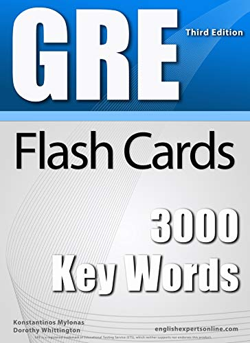 Amazon Com Gre Flash Cards 3000 Key Words A Powerful Method To Learn The Vocabulary You Need Ebook Mylonas Konstantinos Whittington Dorothy Miller Dean Kindle Store