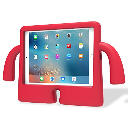 Speck iGuy Child's Free-Standing Protective Foam Case for 9.7 Inch iPad Pro - Chilli Pepper Red,77641-B104