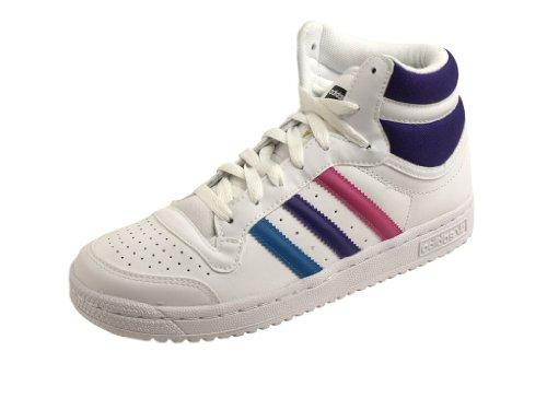 Adidas Top Ten Hi J G51555 Fille Chaussures Blanc
