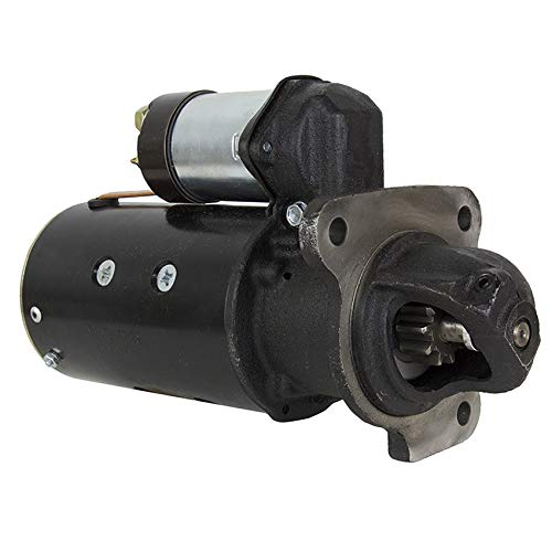 NEW STARTER MOTOR COMPATIBLE WITH ALLIS CHALMER TRACTOR 160 PERKINS 3-152 DIESEL 1970-1975 -  RAREELECTRICAL, 4192A1