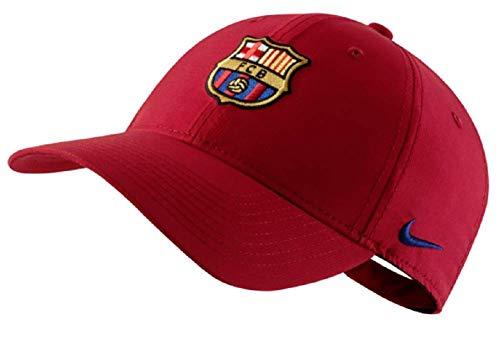 Nike FCB U Nk Dry L91 Cap ADJ Unisex Erwachsene Einheitsgröße Rot/Blau (Noble red/deep royal Blue)