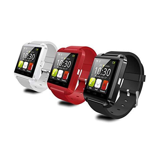 HFXLH U8 Estudiantes Adultos SmartWatch del Reloj de Bluetooth Bluetooth Inteligente Respuesta de teléfono y Recibir Llamadas, Bluetooth, SMS, Bluetooth Contador bidireccional - pérdida