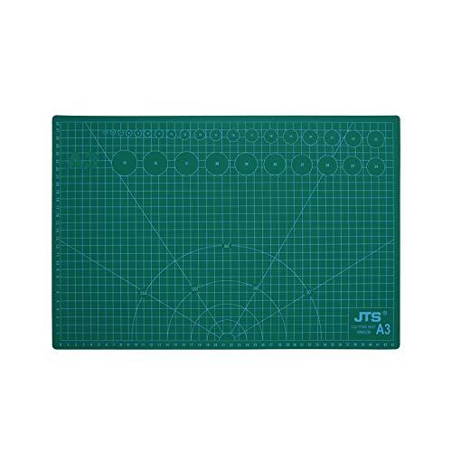 tappetino da taglio autoguarigione A3, 5 strati di pvc riciclabile, stampa su due lati 45x30cm, accessori cucito, per srapbooking, decoupage, base per tavolo da lavoro