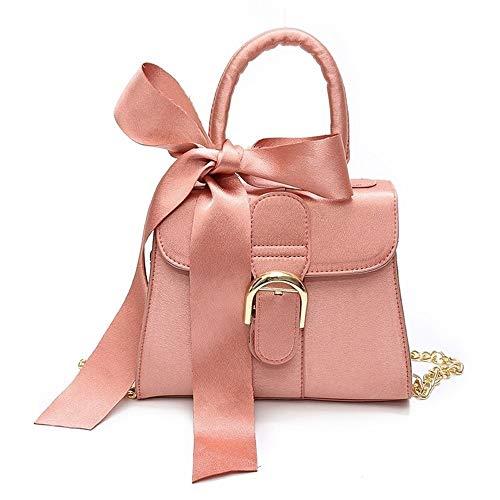 TEYUN - Bolsa de noche para mujer, color rosa