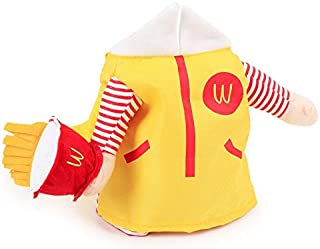 D-ModernPet Dog Costume - Funny Uncle McDonald Costume for Pets Cat Apparel Clothes for Dogs Halloween Christmas Cosplay Outfit Clothing Costume for a cat