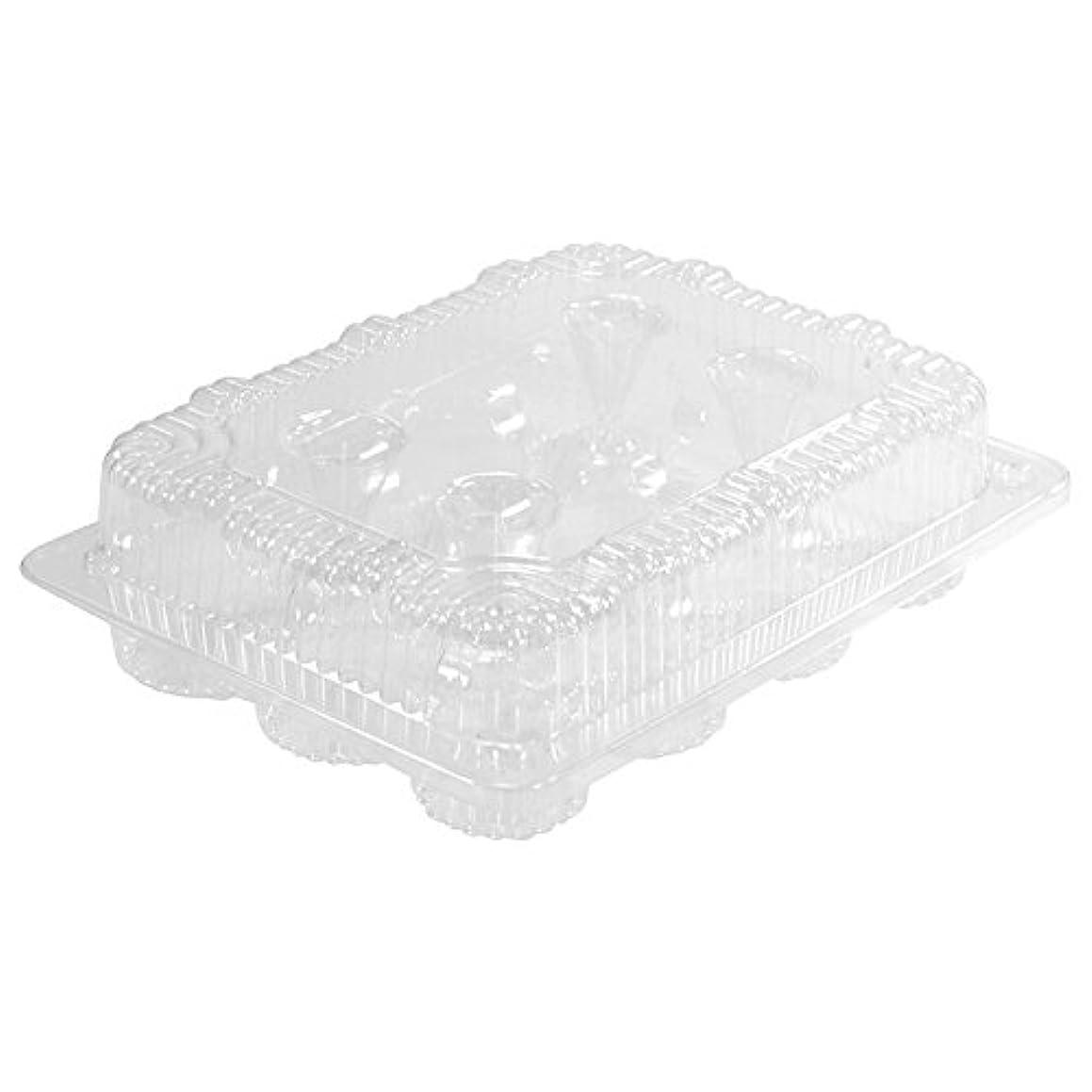1 Dozen Mini Cupcake Container (12 cavities), 25 ct.