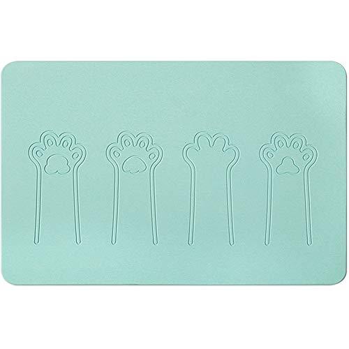 Diatomite badmat, antislip douchemat, kan worden gewassen en gedroogd, snel geschikt voor toilet, keuken, hotel (39 * 60 cm) A