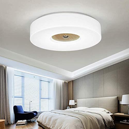 Plafondlamp van massief hout LED plafondlamp badkamer jongens meisjes kinderlamp plafondlamp kroonluchter slaapkamer balkon restaurant keuken plafondlamp modern 6500K 43cm/24W