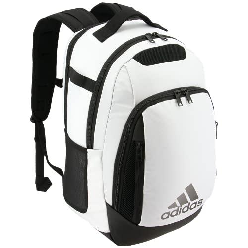 adidas Unisex 5-Star Team Backpack, White/Black, ONE SIZE