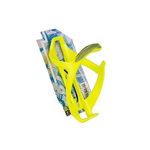 ZYDSD MTB Ajustable Jaula de la Botella de Agua de Bicicletas for Bicicletas de montaña Bici del Camino Ultraligero Soporte for Botella de Accesorios de la Bicicleta (Color : Yellowgreen)