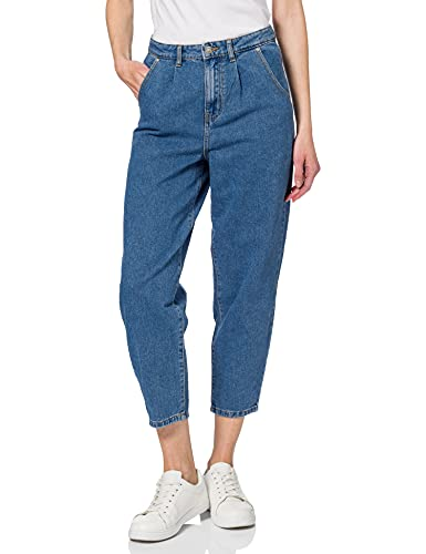 Only ONLLIVA Slouchy HW Jeans DNM MAE, Medio De Mezclilla Azul, XS para Mujer
