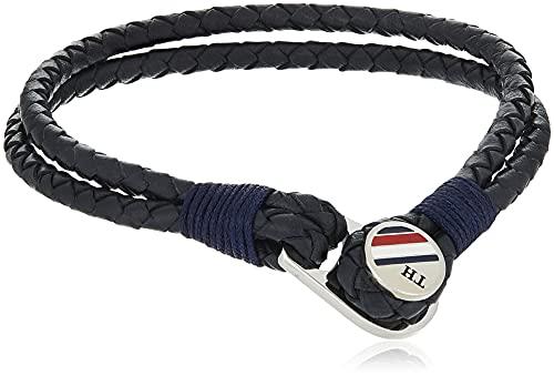 Tommy Hilfiger - Collar de cadena con corazón para hombre