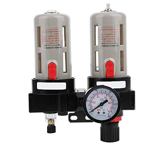 Coupe-eau à air comprimé G3/8 pouces, filtre régulateur de pression de régulateur de pression d'huile BFC-3000 pour compresseur d'air comprimé, séparateurs d'huile et séparateur d'eau d'accessoires de