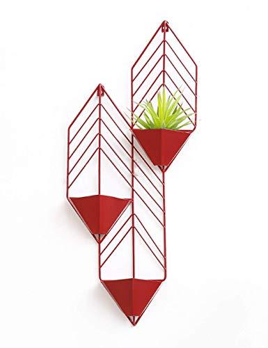Plant Hanger 3 Blumentopf Pflanzenhalter für Indoor Outdoor Dekorationen, hängende Pflanzerhalter für Modern Home Decor, Pflanzenhalter 11.8Prime; x27.9Prime;(4 Farbe)