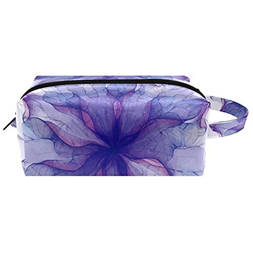 Bolsa de almacenamiento de cosméticos para mujer con cremallera, bolsa de maquillaje para colgar neceser de maquillaje, impermeable, bolsa de viaje de cuero para niñas y niños