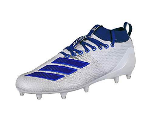adidas Herren Adizero 8.0, Weiß/Collegiate Royal/Bright Royal, 49 EU