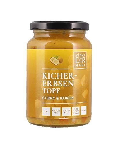 WDM Bio-Fertigprodukte Orientalische Kichererbsensuppe (380 g) - Bio