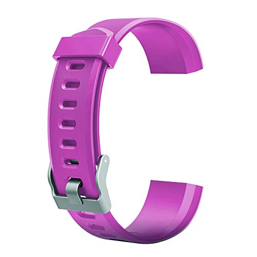 BMEA Accesorio de repuesto para reloj inteligente ID115Plus HR (morado) decoración creativa