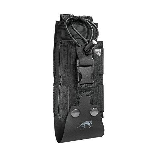 Tasmanian Tiger TT Tac Pouch 2 Radio MKII Sacoche Radio pour SEM 52 S ; Compatible Molle (Noir)