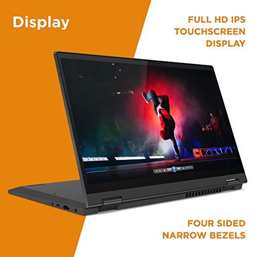 Product Image 2: , Lenovo Flex 5 14″ 2-in-1 Laptop, 14.0″ FHD (1920 x 1080) Touch Display, AMD Ryzen 5 4500U Processor, 16GB DDR4, 256GB SSD, AMD Radeon Graphics, Digital Pen Included, Win 10, 81X20005US, Graphite Grey
