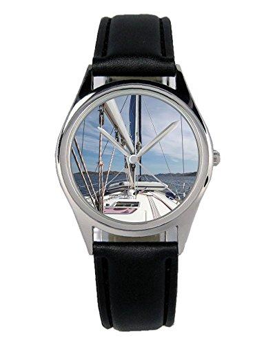 Geschenk für Seefahrer Segler Kapitän Uhr B-2812