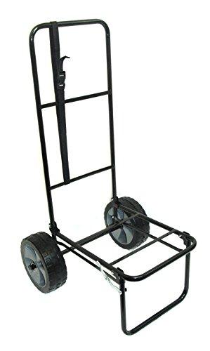 Bison - Carro de pesca plegable con neumáticos a...