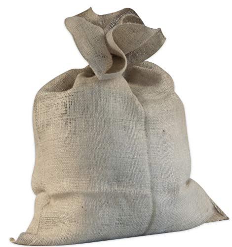 Windhager Jute Sack Jute-Beutel Stoff-Beutel Winterschutz Kartoffel-Sack, Deko-Beutel, Natur, 100 x 110 cm, 06389