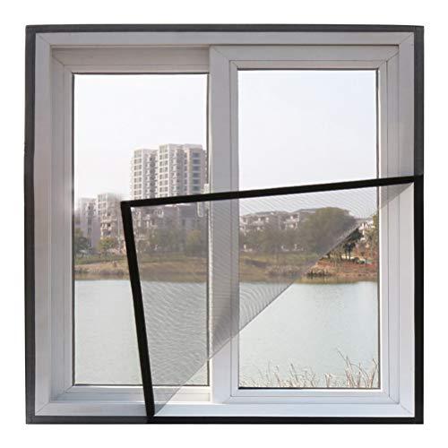 ALSGON Insektenschutz Fenster Klettband,Schutz Gegen MüCken - Durchsichtiges Fiberglasgewebe Insektenschutz, Fliegengitter MüCkengitter,160x160cm(63x63in)