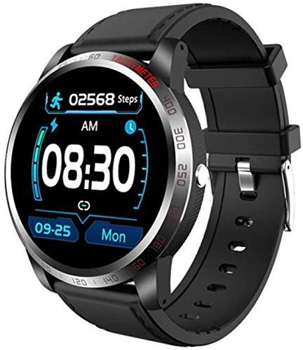 Reloj inteligente inteligente para hombre, IP68, resistente al agua, con ECG, PPG, presión arterial, frecuencia cardíaca, reloj deportivo