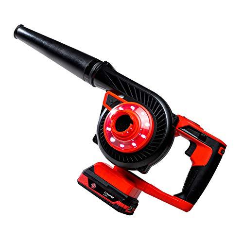 Adam's Dual Purpose Car Vacuum & Car Dryer - Cordless Vacuum for Car Cleaning, Auto Detailing & Car Wash | Handheld Car Vacuum Car Accessories | Seat Carpet Cleaner Machine | Home Lawn Leaf Blower