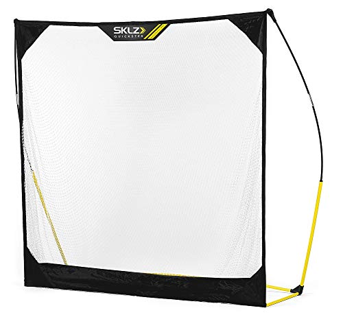SKLZ Quickster Portable Baseball Hitting Net for Baseball and Softball, 5 x 5 feet