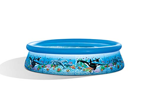 Intex Ocean Reef Easy Set Pool - Aufstellpool - Ø 305x 76cm - Mit Filteranlage