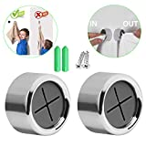 2 Pcs Adhesive Towel Holder Towel Hooks Round Wall Mount Hook Tea Towel Holders for Bathroom, Kitchen and Home, No Drilling Required
