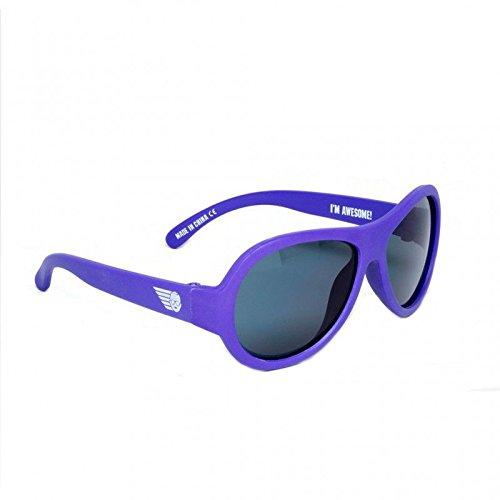 Babiators Ops – gafas de sol para niño (negro). morado violeta
